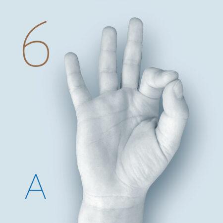 Einzelne Fingerkuppen bzw. Punkte mit Daumenkuppe berühren