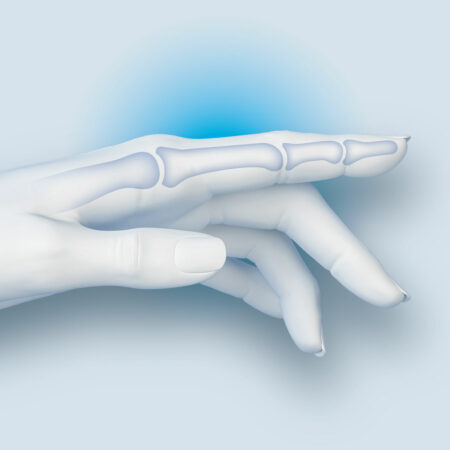 gesunder Finger